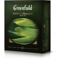 Чай Greenfield Flying Dragon 100 шт х 2 г зеленый китайский