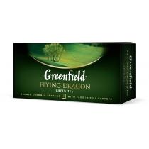Чай Greenfield Flying Dragon 25 шт х 2 г зеленый китайский
