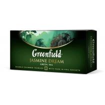 Чай Greenfield Jasmin Dream 25 шт х 2 г зелений китайський з ароматом жасмину