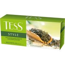 Чай TESS Style 25 шт х 2 г зеленый китайский чай