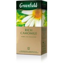 Чай Greenfield Rich Camomile 25 шт х 1,5 г  трав'яний з ромашкою, сушеними яблуками і корицею