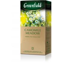 Чай Greenfield Camomile Meadow 25 шт х 1,5 г травяной с ромашкой, шиповником, мелиссой, личи
