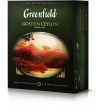 Чай Greenfield Golden Ceylon 100 шт х 2 г чорний цейлонський