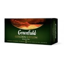 Чай Greenfield Golden Ceylon 25 шт х 2 г  чорний цейлонський