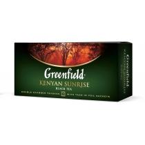 Чай Greenfield Kenyan Sunrise 25 шт х 2 г черный кенийский