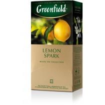 Чай Greenfield Lemon Spark 25 шт х 1,5 г черный индийский чай с цедрой лимона