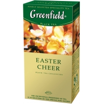 Чай Greenfield Easter Cheer 25 шт х 1,5 г индийский черный байховый с вербеной