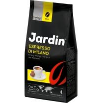 """Кава в зернах Jardin """"Espresso di Milano"""" сила смаку 4, темне обсмаження, 250 г"""
