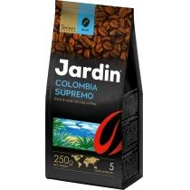"""Кофе в зернах Jardin """"Colombia supremo"""" сила вкуса 5, темной обжарки, 250 г"""