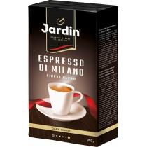 """Кофе молотый Jardin """"Espresso di Milano"""" сила вкуса 4, темной обжарки, 250 г"""