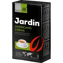 """Кофе молотый Jardin """"Americano Crema"""" сила вкуса 3, средней обжарки, 250 г"""