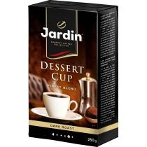 """Кофе молотый Jardin """"Dessert cup"""" сила вкуса 4, темной обжарки, 250 г"""