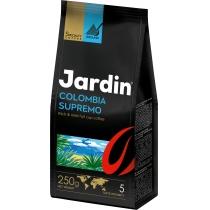 "Кофе молотый Jardin ""Colombia supremo"" сила вкуса 5, темной обжарки, 250 г"