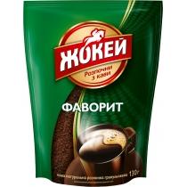 """Кава розчинна Жокей """"Фаворит"""" 130 г сублімована, економ упаковка"""
