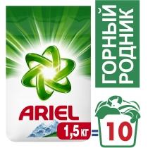Стиральный порошок ARIEL автомат Горный источник 1,5 кг