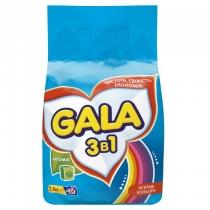 Стиральный порошок GALA автомат Яркие цвета 2,4 кг