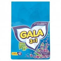 Стиральный порошок GALA автомат Свежесть горной лаванды 1,5 кг