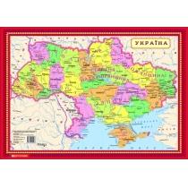 Карта. Пазлы. Украина 42x30 см