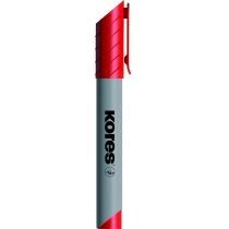 Маркер для фліпчартів KORES XF1 1-3 мм, червоний
