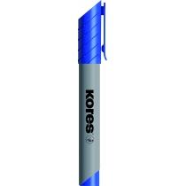 Маркер для фліпчартів KORES XF1 1-3 мм, синій