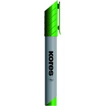 Маркер для флипчартов KORES XF1  1-3 мм, зеленый