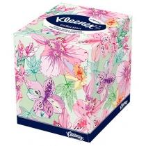 Серветки  Kleenex Collection двошарові коробка куб 100 шт