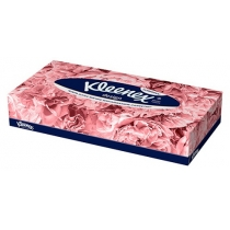 Салфетки бумажные 2 слоя Kleenex Design 70 шт коробка прямоугольная