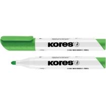 Маркер для белых досок KORES 1-3 мм, желтый