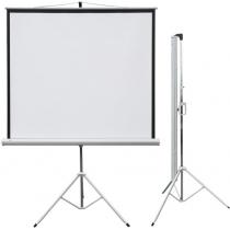 Екран проекційний PROFI, 147 х 147 см, на тринозі