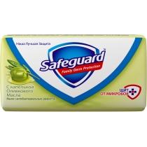 Мыло туалетное SAFEGUARD Оливковое масло 90 г