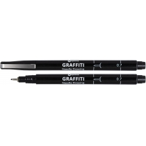 Лайнер Optima GRAFFITI 07 мм, черный