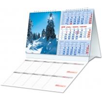"""Календар настільний 2019 """"Мега"""" асорті"""