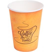 Стакан бумажный Coffee Time 340 мл 50 шт