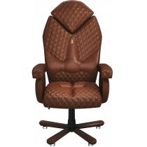 Крісло DIAMOND екошкіра коричневе