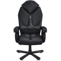 Крісло DIAMOND екошкіра чорне