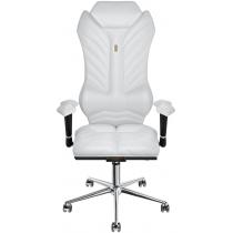 Крісло MONARCH екошкіра біле