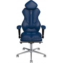Крісло ROYAL екошкіра синє