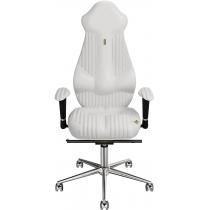 Крісло IMPERIAL екошкіра з прошивкою біле