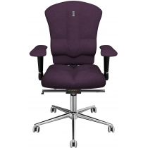 Крісло VICTORY матеріал азур фіолетове
