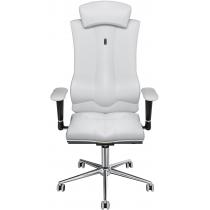 Крісло ELEGANCE екошкіра перфорована біле