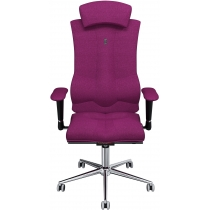 Крісло ELEGANCE матеріал азур рожеве