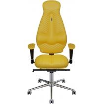 Крісло GALAXY екошкіра з індивідуальною прошивкою жовте