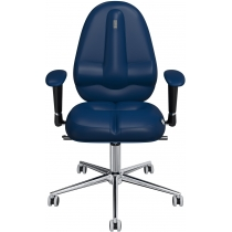 Крісло CLASSIC екошкіра синє