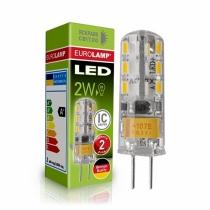 Лампа светодиодная EUROLAMP  капсульная силикон G4 2W G4 3000K 220V (1000)