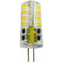 Лампа светодиодная DELUX G4E 3 Вт 3000K 220В G4 теплый белый