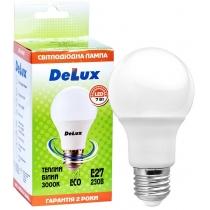 Лампа светодиодная DELUX BL 60 7Вт 3000K 220В E27 теплый белый