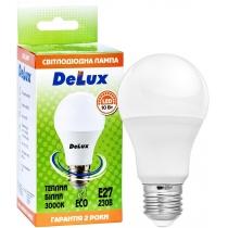 Лампа светодиодная DELUX BL 60 10Вт 3000K 220В E27 теплый белый