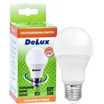Лампа светодиодная DELUX BL 60 10Вт 6500K 220В E27 холодний белый