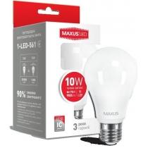 Лампа светодиодная MAXUSA60 10W 3000K 220V E27