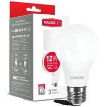 Лампа светодиодная MAXUSA65 12W 3000K 220V E27